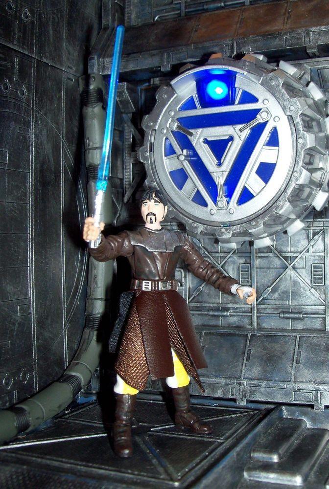 "action figure 3.75/"" XA1 Clone Wars HASBRO Star Wars Jedi Master Ki-Adi-Mundi"