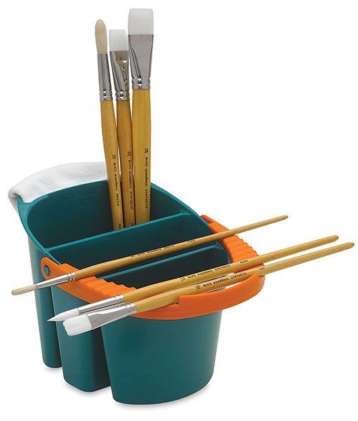 Mijello Water Bucket Blick Art Materials Water Bucket Art Materials Artist Brushes
