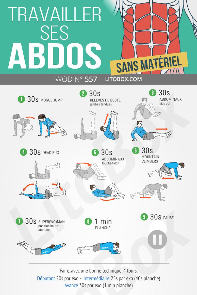 abdominaux exercices