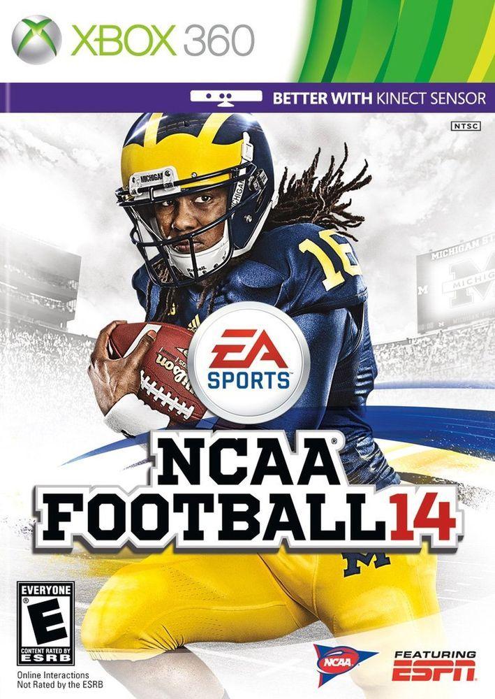 NCAA Football 14 Xbox 360 [video game] Football video