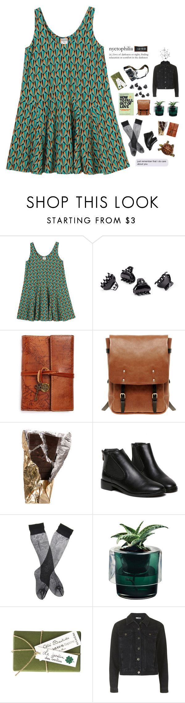 """What are we doing?"" by imarunightingale ❤ liked on Polyvore featuring beauty, Monki, Eos, H&M, Patricia Nash, Ally Capellino, Nude, Jayson Home, She's So and Topshop"