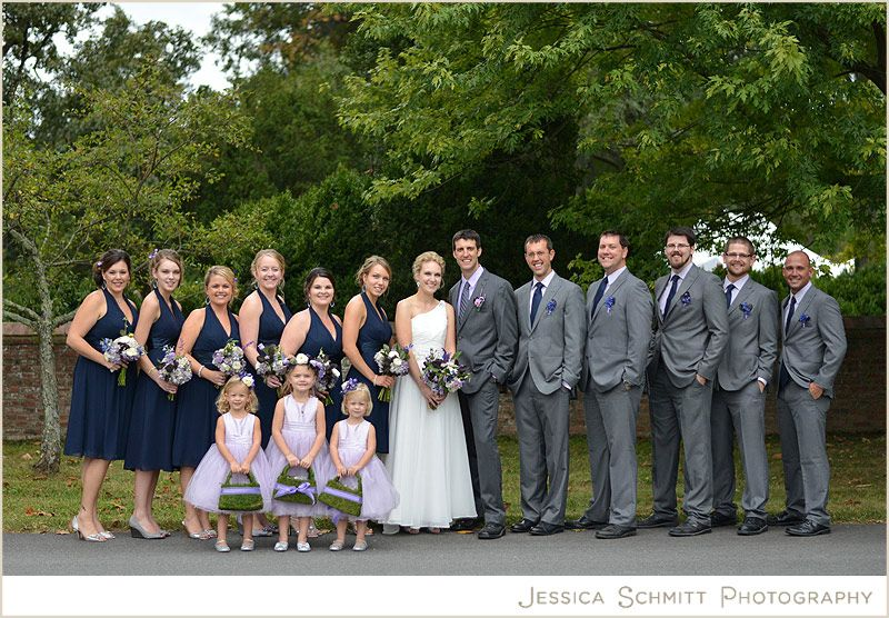 Jessicaschmittblog Wp Content Uploads 2013 10 Wedding Party Navy Purple Fall