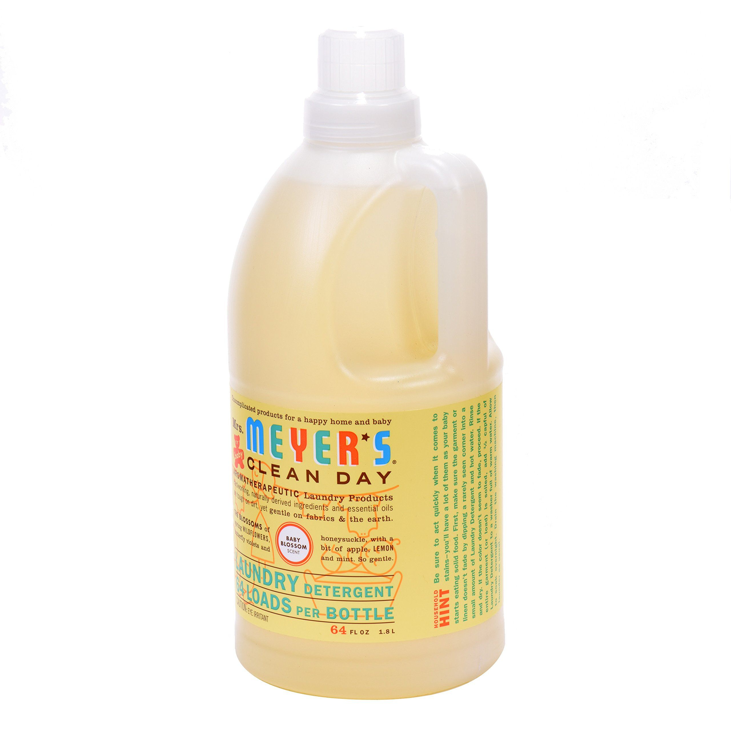 Mrs Meyers Clean Day Laundry Detergent Concentrated Baby Blossom