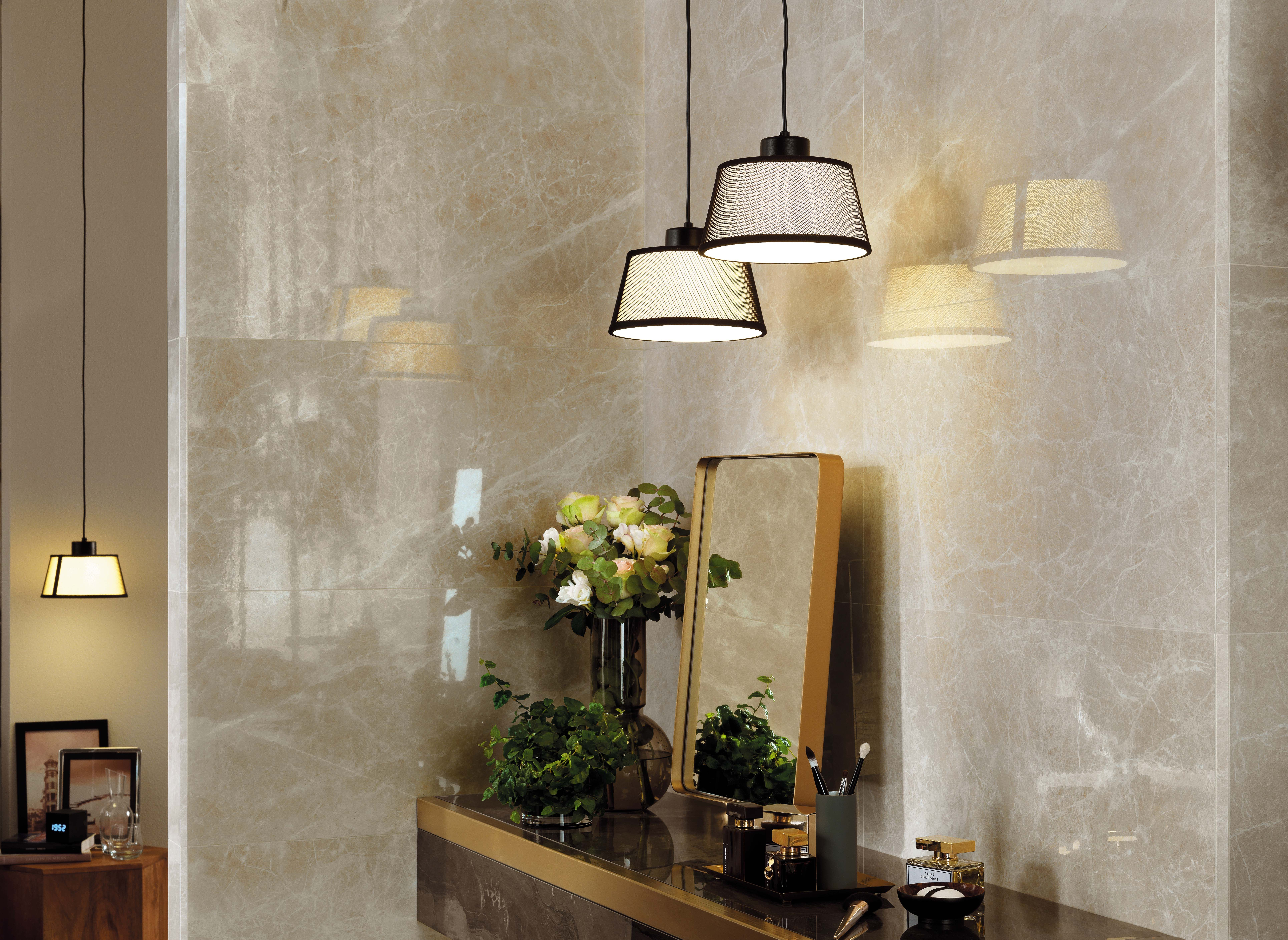 3b747a499d7703 Minoli Marvel Elegant Sable has a soft #marbleeffect of warm #neutraltones.  Faint blush hues and #beige undertones are paired with highlights of cream,  ...