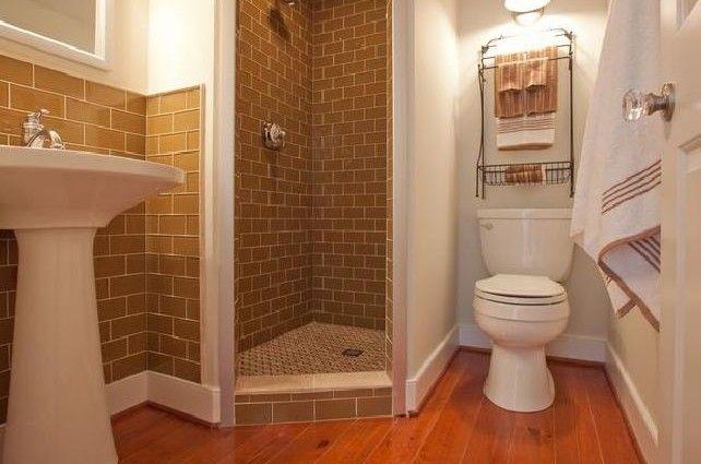Small Corner Shower With Small Bathroom Corner Shower Space Saving ...