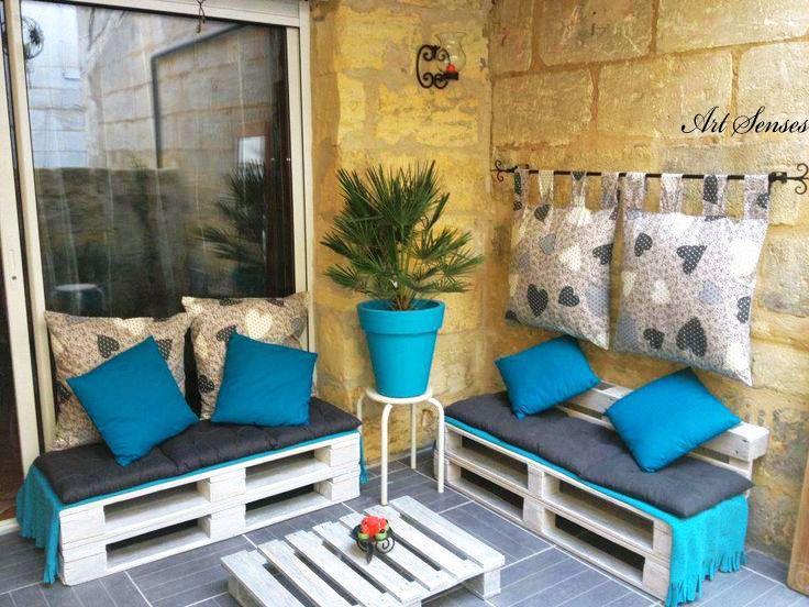 Ideen Mit Paletten Terrasse, Balkon Und Veranda | Kunst Sinne    Künstlerischen Ideen Für Innen Und Garten.