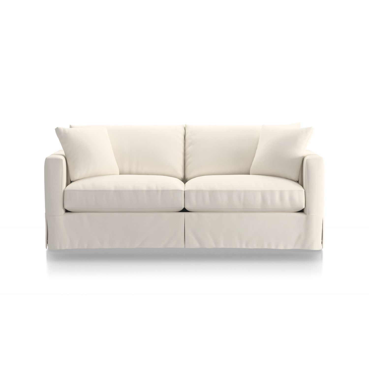 Willow Modern Slipcovered Sofa The Periwinkle Pad Sofa
