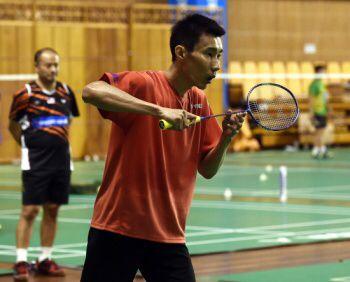 Lee On Quest For Badminton Redemption Sport Betting Mqq88 Com Mqq88 Sports Sports Betting Badminton