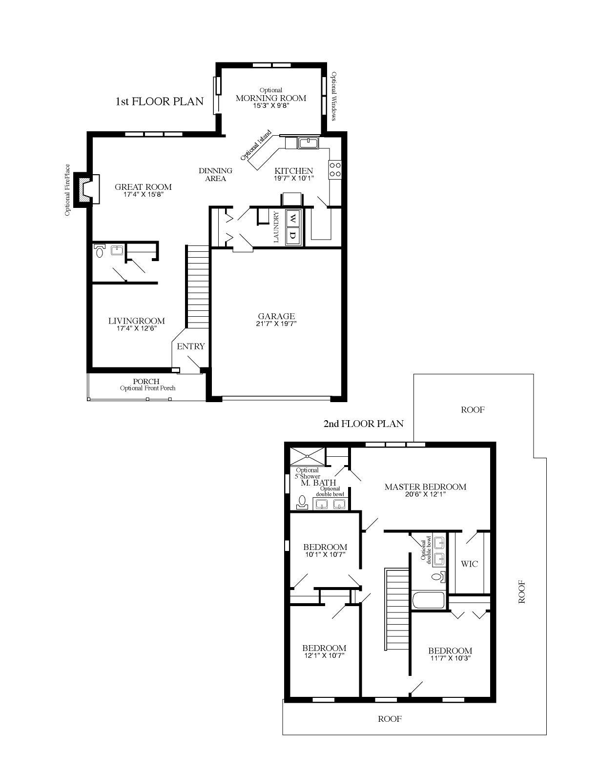 Mccoy Floor Plan
