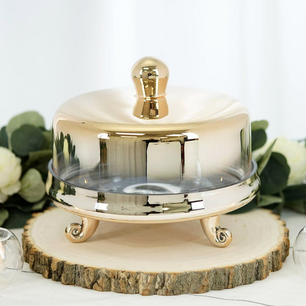 cake stand with dome next