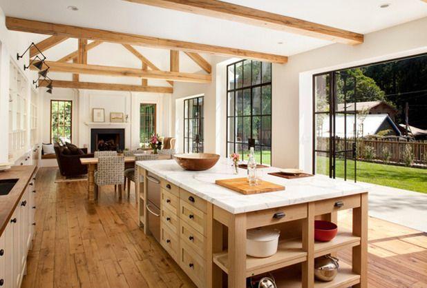 Modern Interieur Herenhuis : Modern farmhouse home decor huis ideeën keuken huis interieur