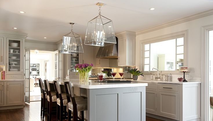 Kitchens By Deane Amazing Kitchen With Gray Kitchen Cabinets Paired With White Marble Counterto Kitchen Inspiration Design Grey Kitchen Designs Kitchen Design