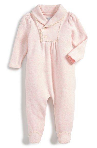 78200a1e Ralph Lauren Shawl Collar Pima Cotton One-Piece (Baby Girls) | baby ...