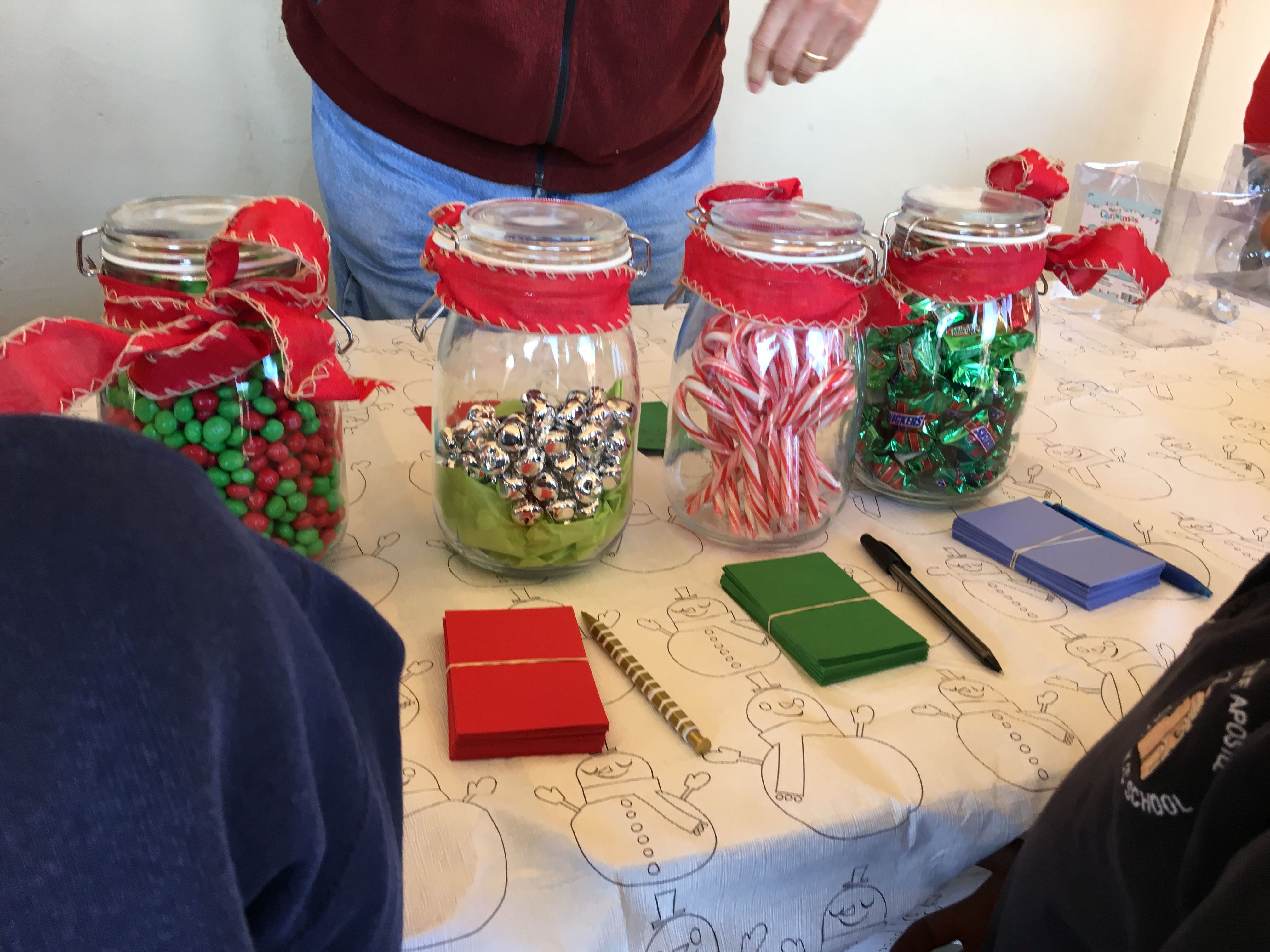 Guess The Candy In The Jar Kids Christmas Party School Christmas Party Holiday Party Crafts