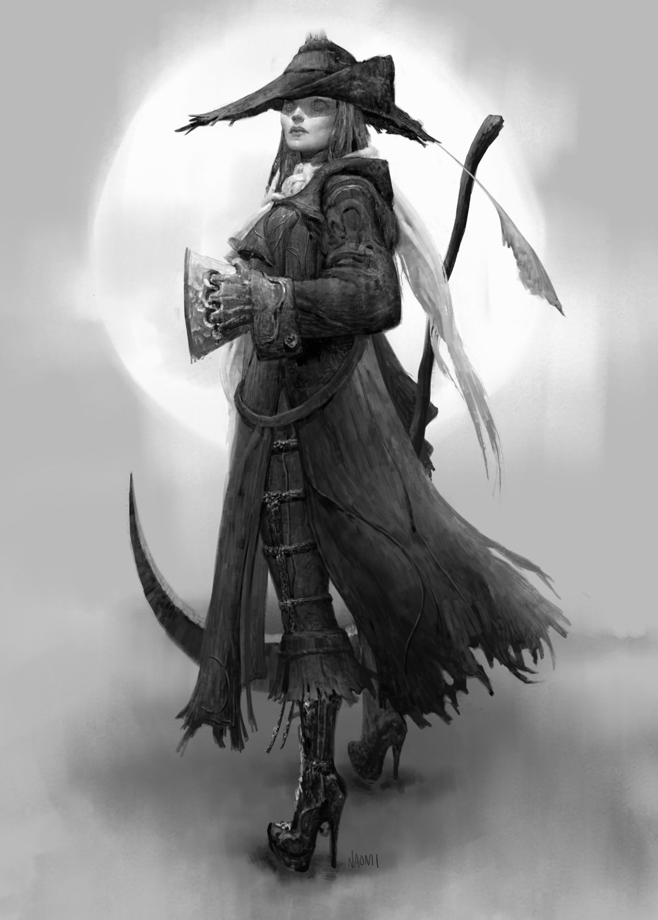 Concept Art World Check Out This Great Bloodborne Fist Of Gratia