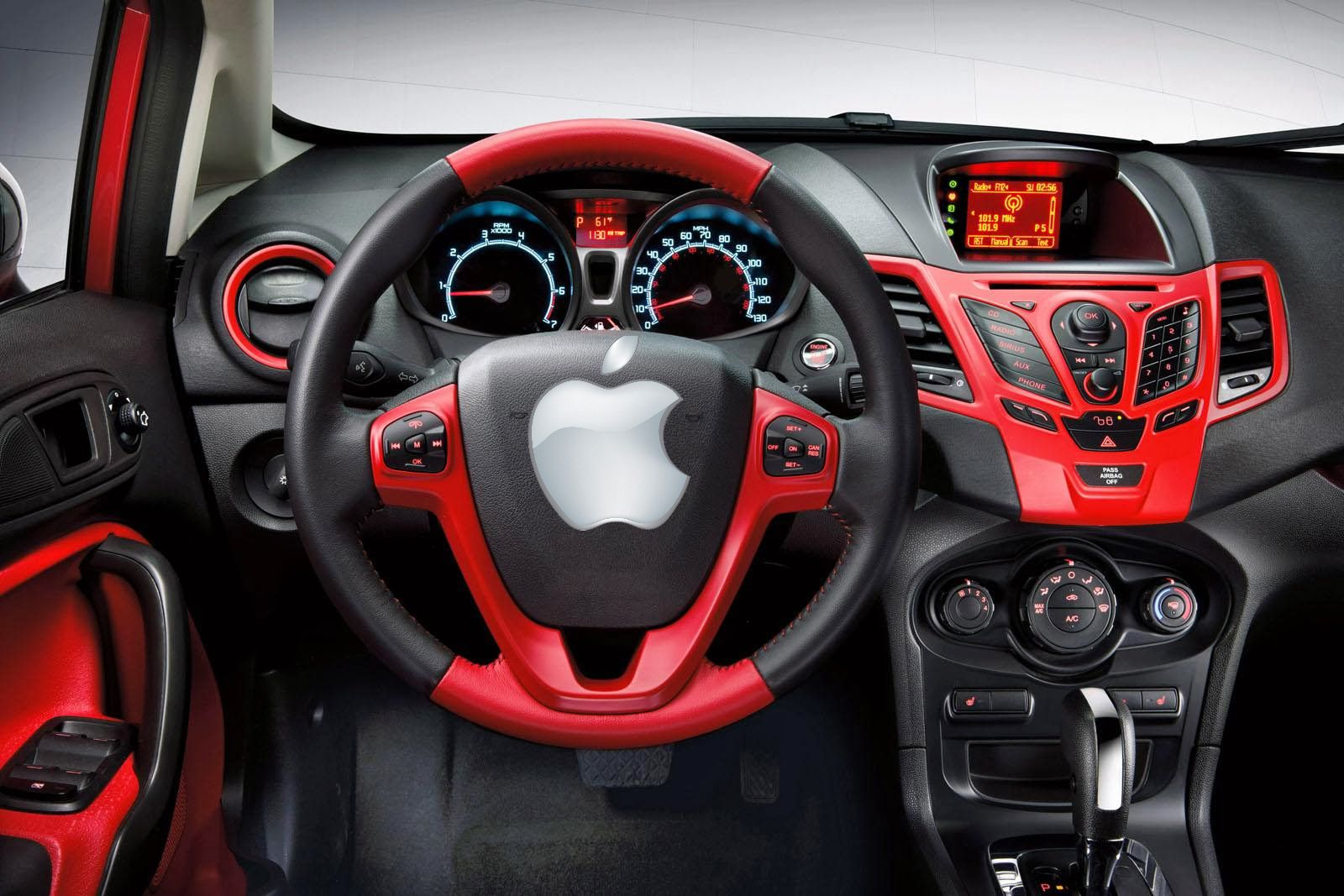 Exciting News For Apple Fan Boys I Mean For Riches Now Apple Announced That They Will Embed Ios In Car Ford Ranger Interior Ford Fiesta Ford Focus Sedan