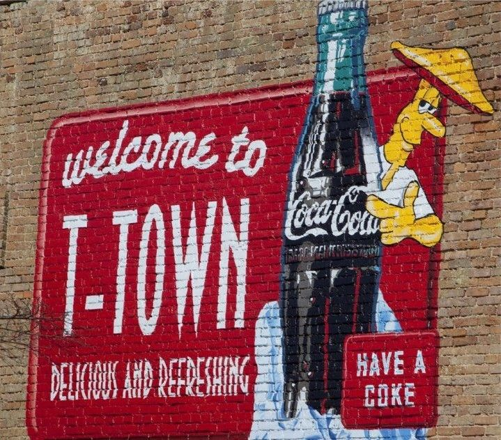 T-Town - Tuscaloosa, AL - A championship town #cocacola