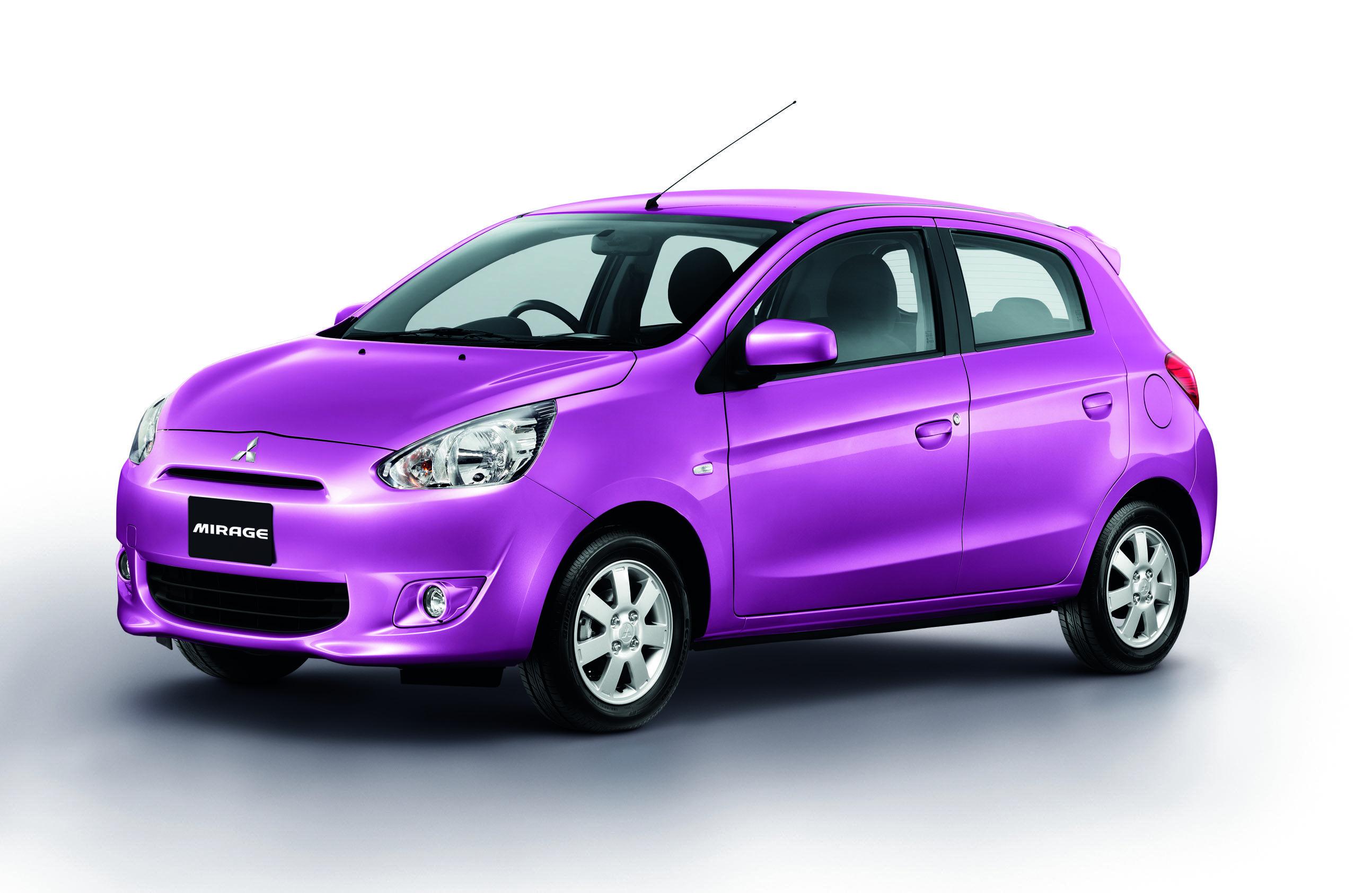 Blossom Purple Mitsubishi Mirage Mitsubishi Small Cars