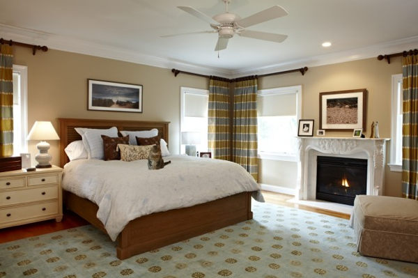 Bedroom Design Ideas Corner Window Window Treatments  Sewing Inspiration Bedroom Window Designs Design Decoration