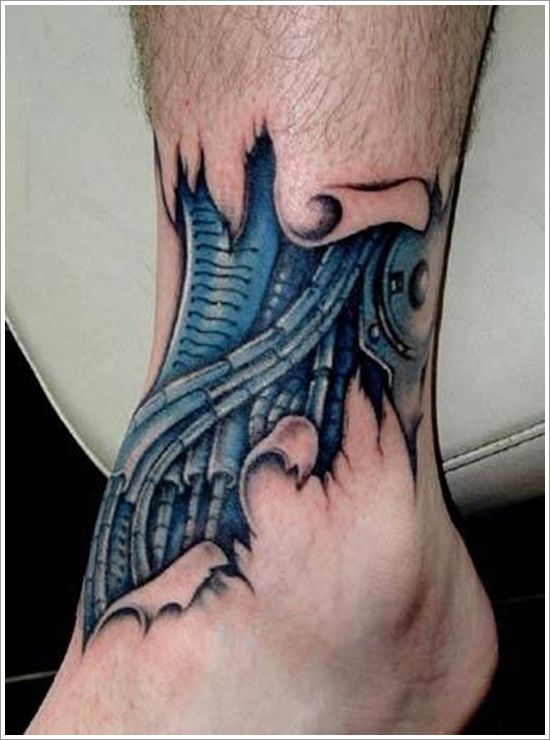 35 Outrageous Bio Mechanical Tattoos Biomechanical Tattoo Cyborg Tattoo Biomechanical Tattoo Design