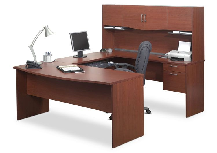U Shaped Computer Desk 52411 By Bestar Office Furniture 1 800 531 1407 Free Shipping 2go