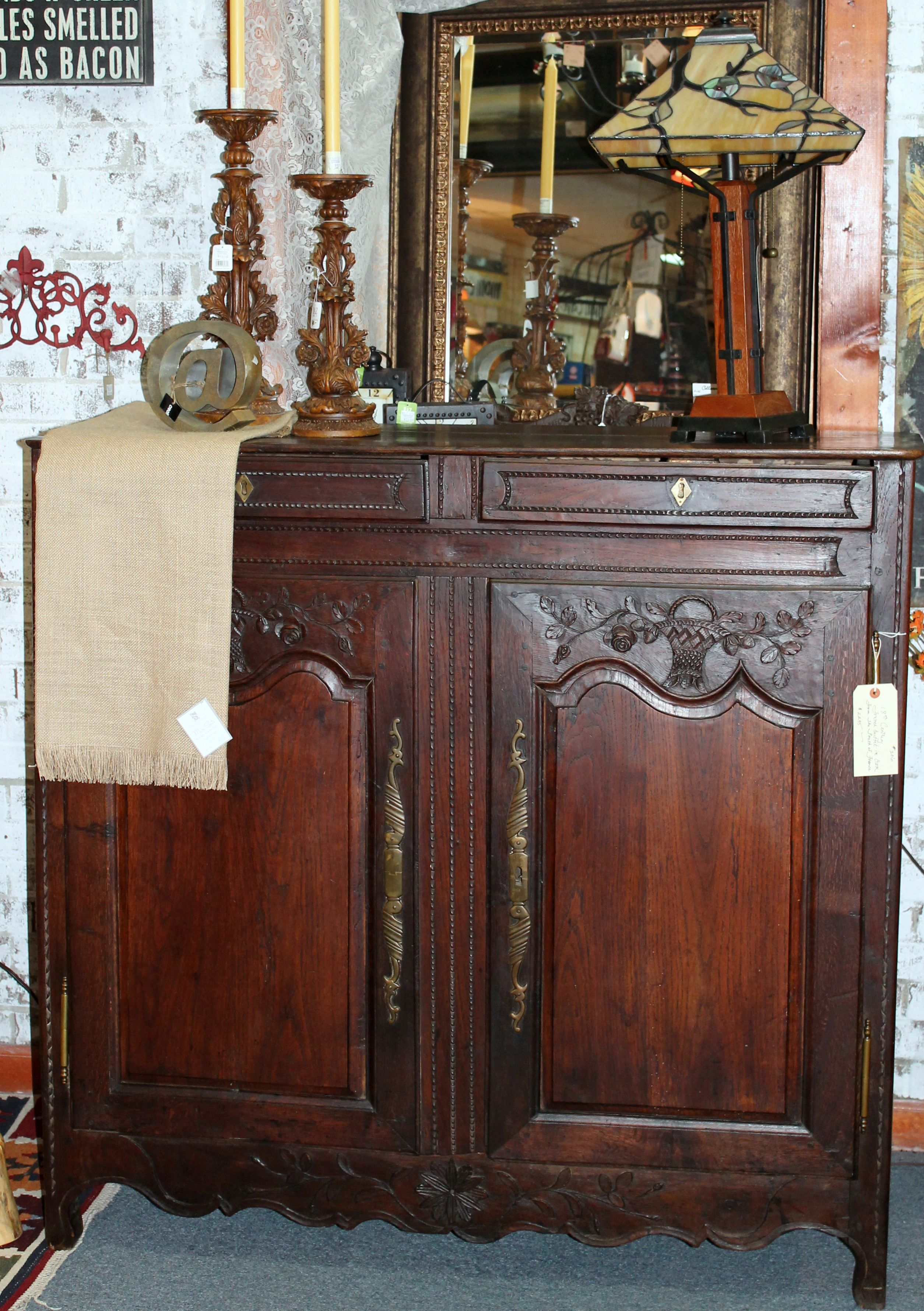 18th Century Furniture French Buffet From The South Of France