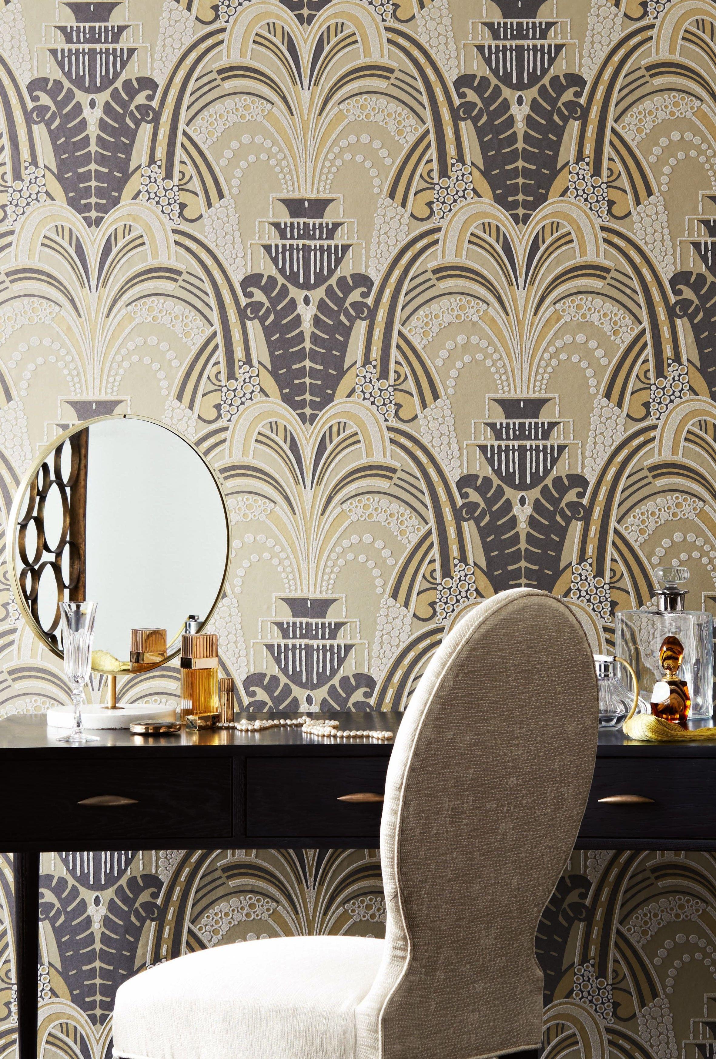 The Lexington Wallpaper Collection Of Opulent Textural Wall