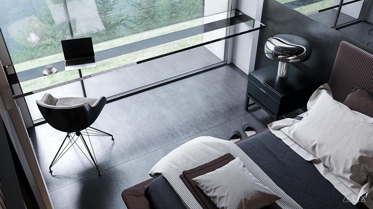 Best Sl Apartments On Behance Space Architecture Revit 400 x 300