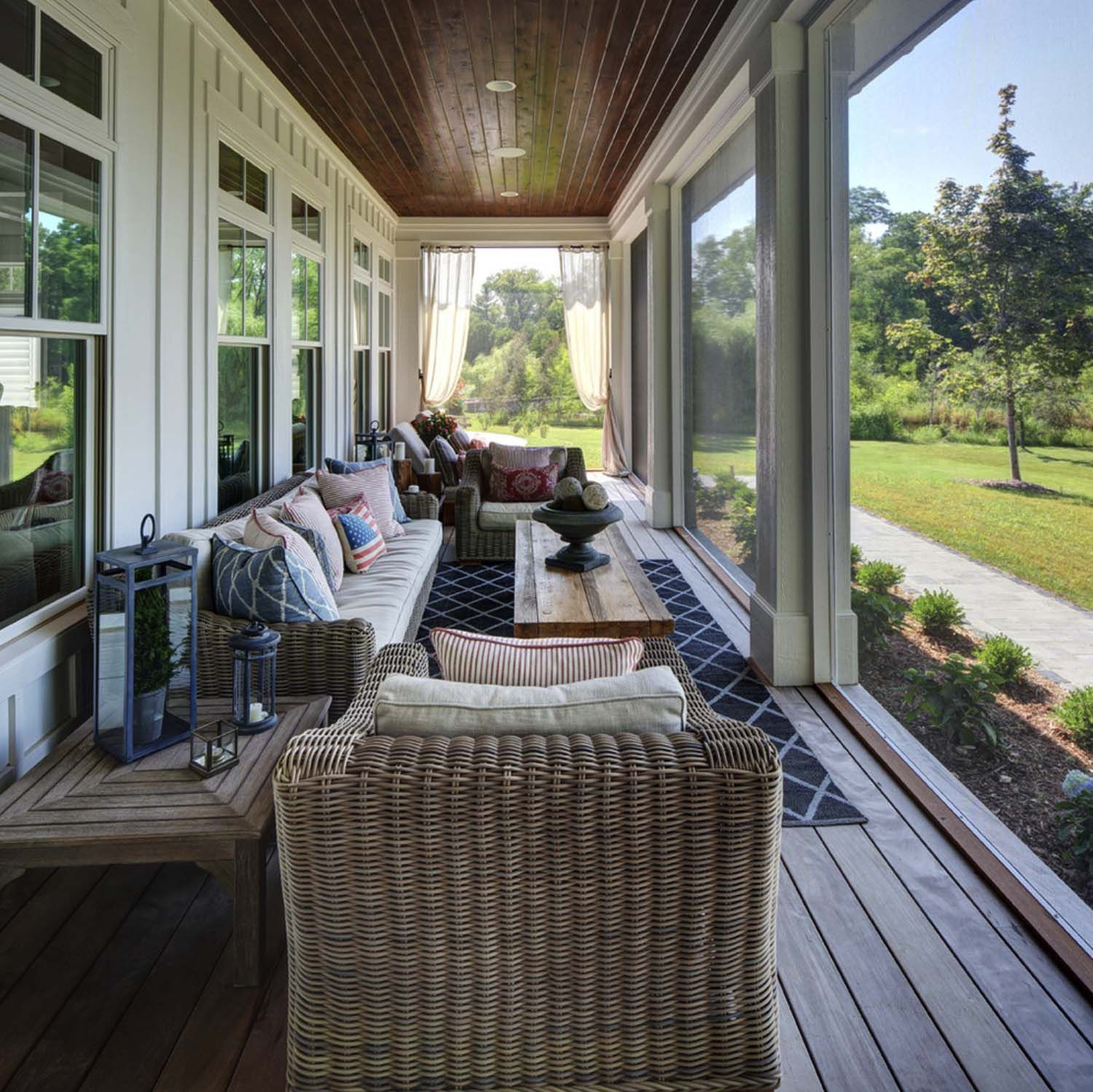 45 Amazingly Cozy And Relaxing Screened Porch Design Ideas Porch Design Screened In Porch Furniture Porch Design Ideas