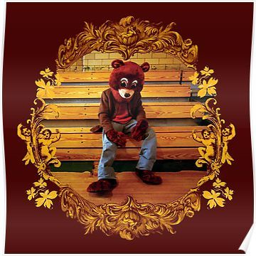 The College Dropout Poster By Jeanheretique Kanye West Albums Hip Hop Albums Rap Albums