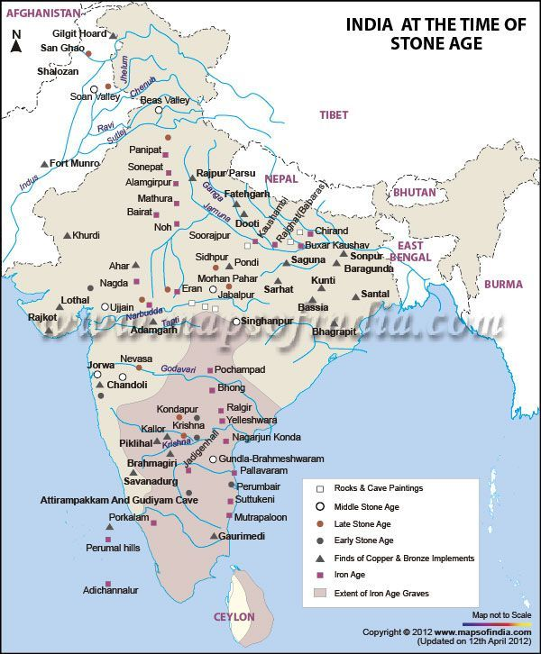 Map of stone age india mapping our history pinterest stone age get detailed information about history and culture of india at the time of stone age gumiabroncs Images