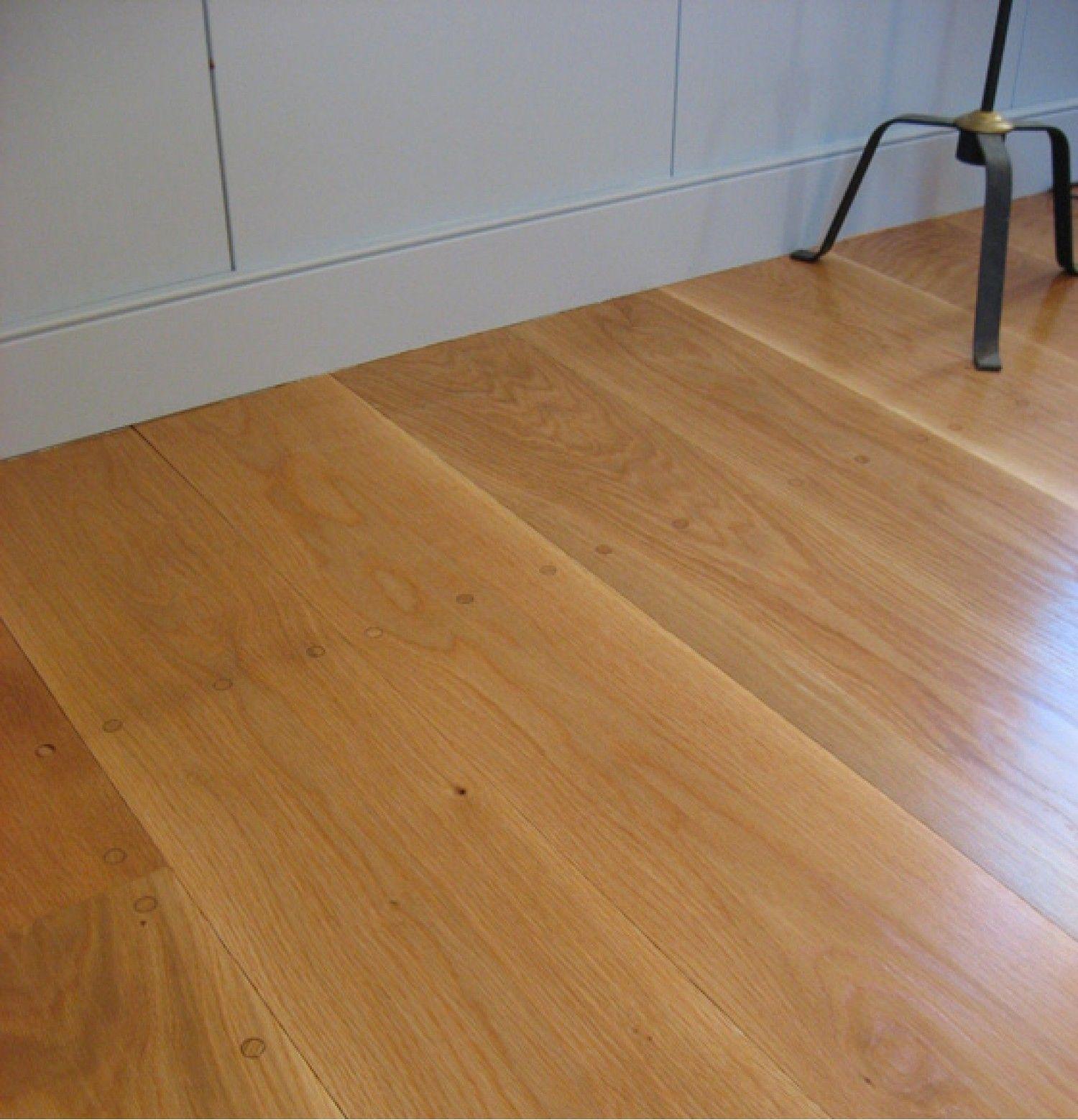 White Oak Flooring Premium Grade Wide plank flooring