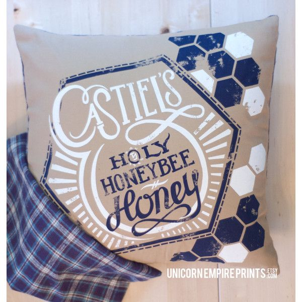 Supernatural Castiel Pillow Cover