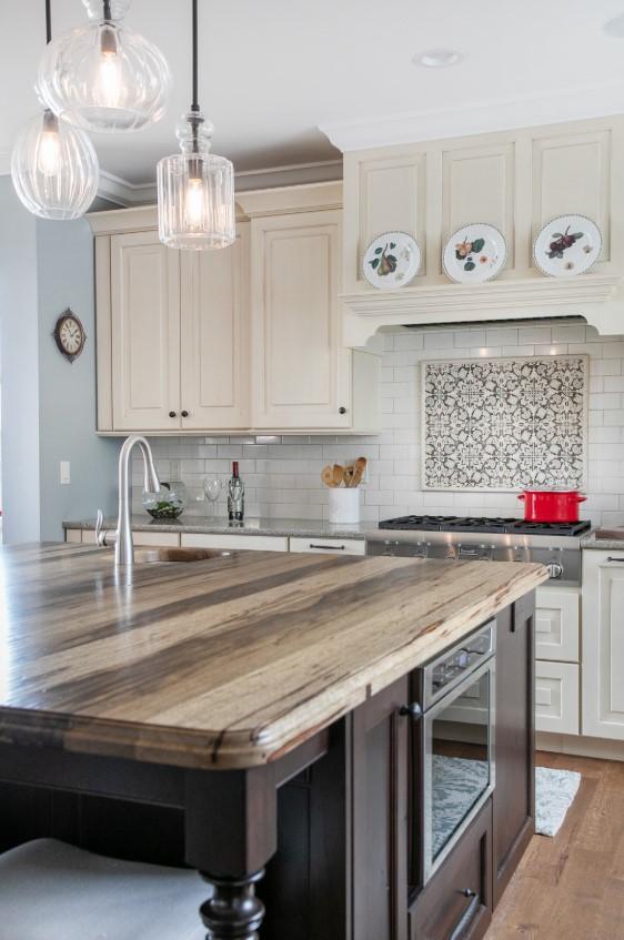 Kitchen Design 2020 Lowes Kitchen Design L Shaped Kitchen Design Ikea Kitchen Desi In 2020 Wood Countertops Kitchen Island Countertop Design Wood Island Countertop