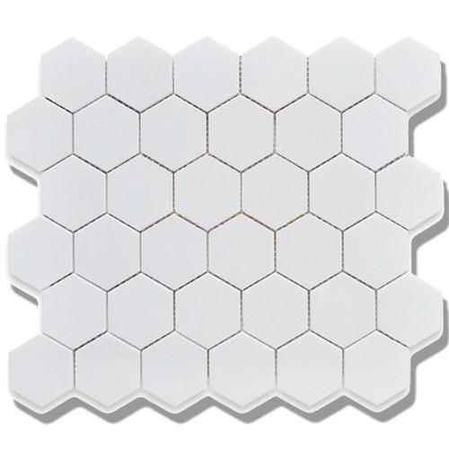 Cc Mosaics Matte Hexagon White Matte Mosaic 2x2 With Images