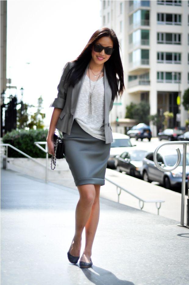 stylish business casual