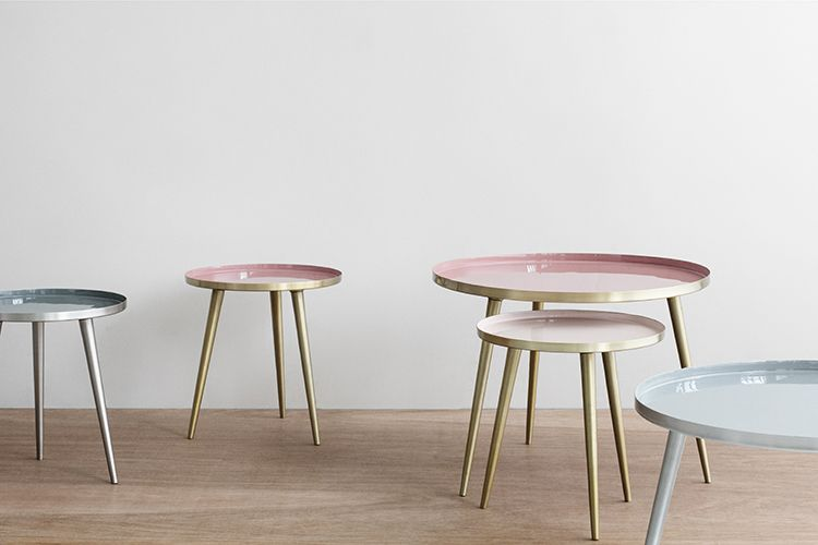 Broste Copenhagen Has The Sweetest Little Enamel Tables
