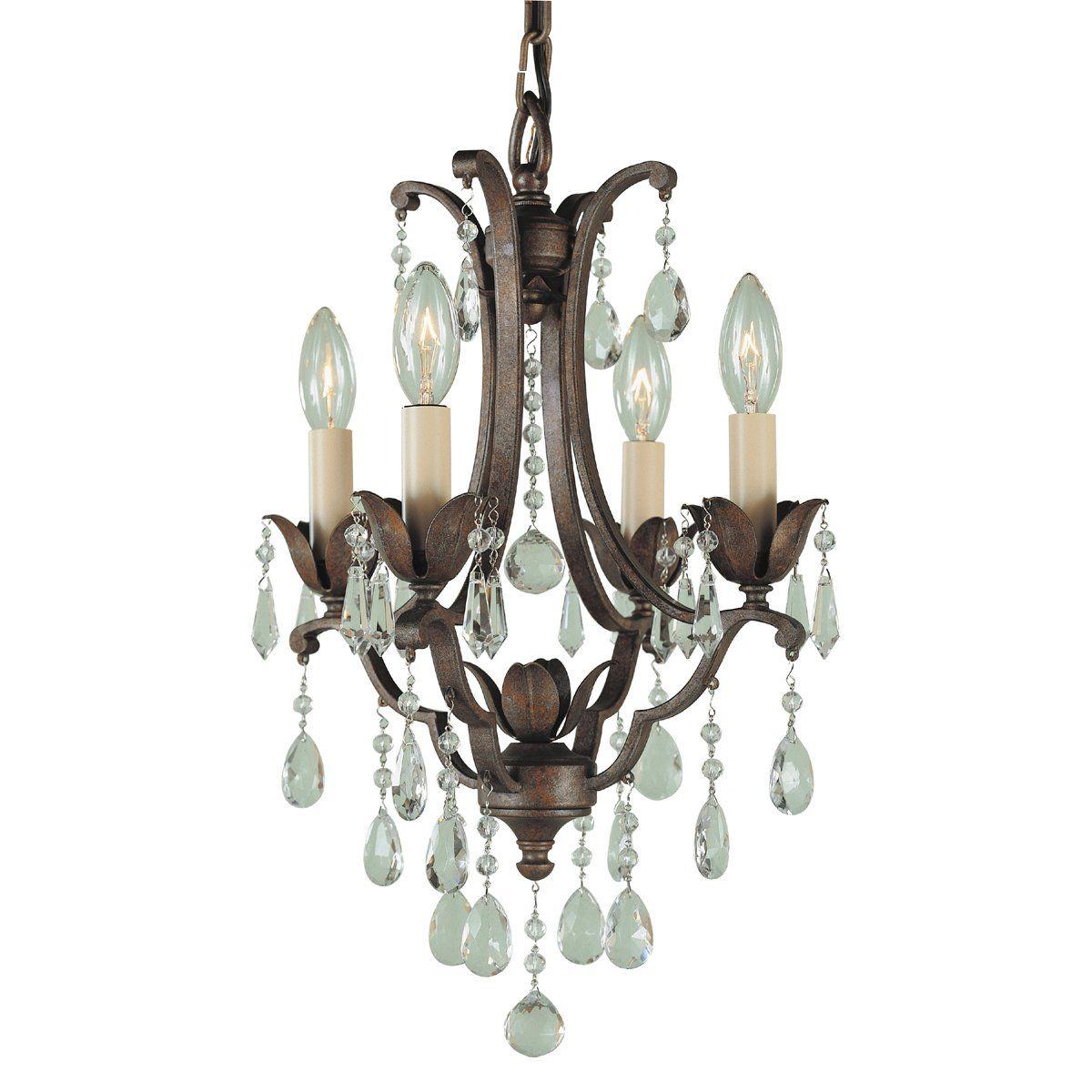 Shop feiss f18814brb 4 light maison ville duomount chandelier at shop feiss f18814brb 4 light maison ville duomount chandelier at atg stores browse arubaitofo Images