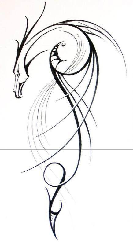 66+ Trendy Tattoo Dragon Feminine Beautiful