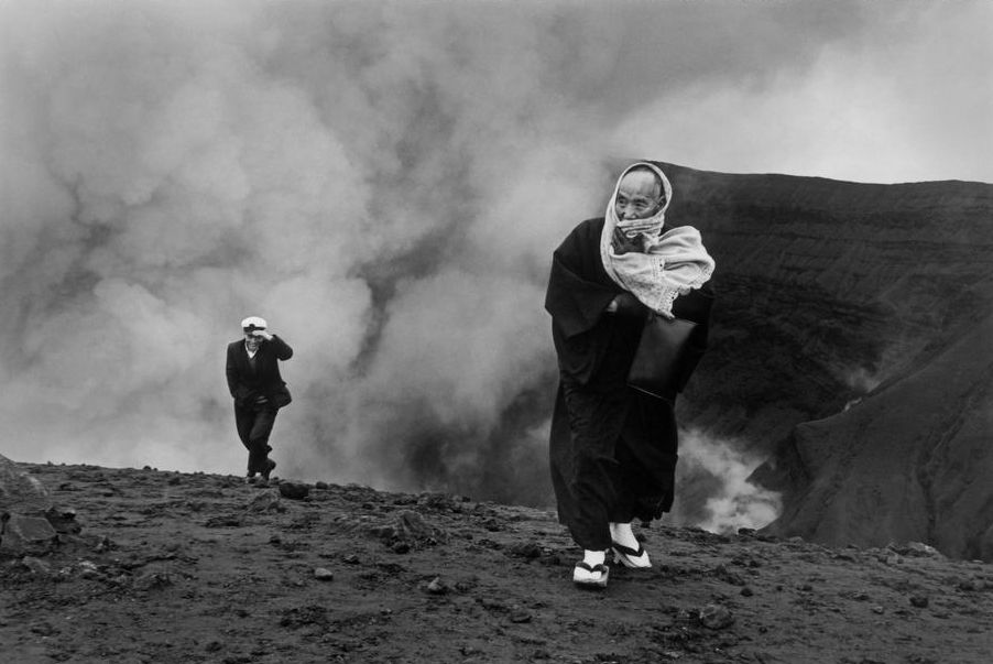JAPAN. Mount Aso. 1965.  © Henri Cartier-Bresson/Magnum Photos