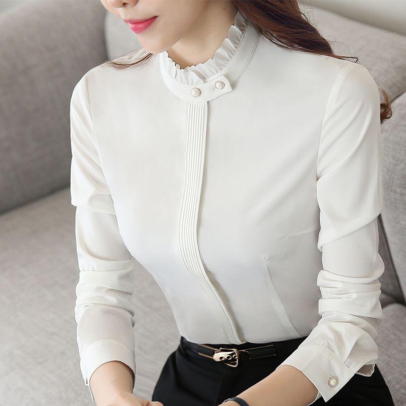 BLUSA BOTÕES DOURADOS   Camisas elegantes, Camisa feminina