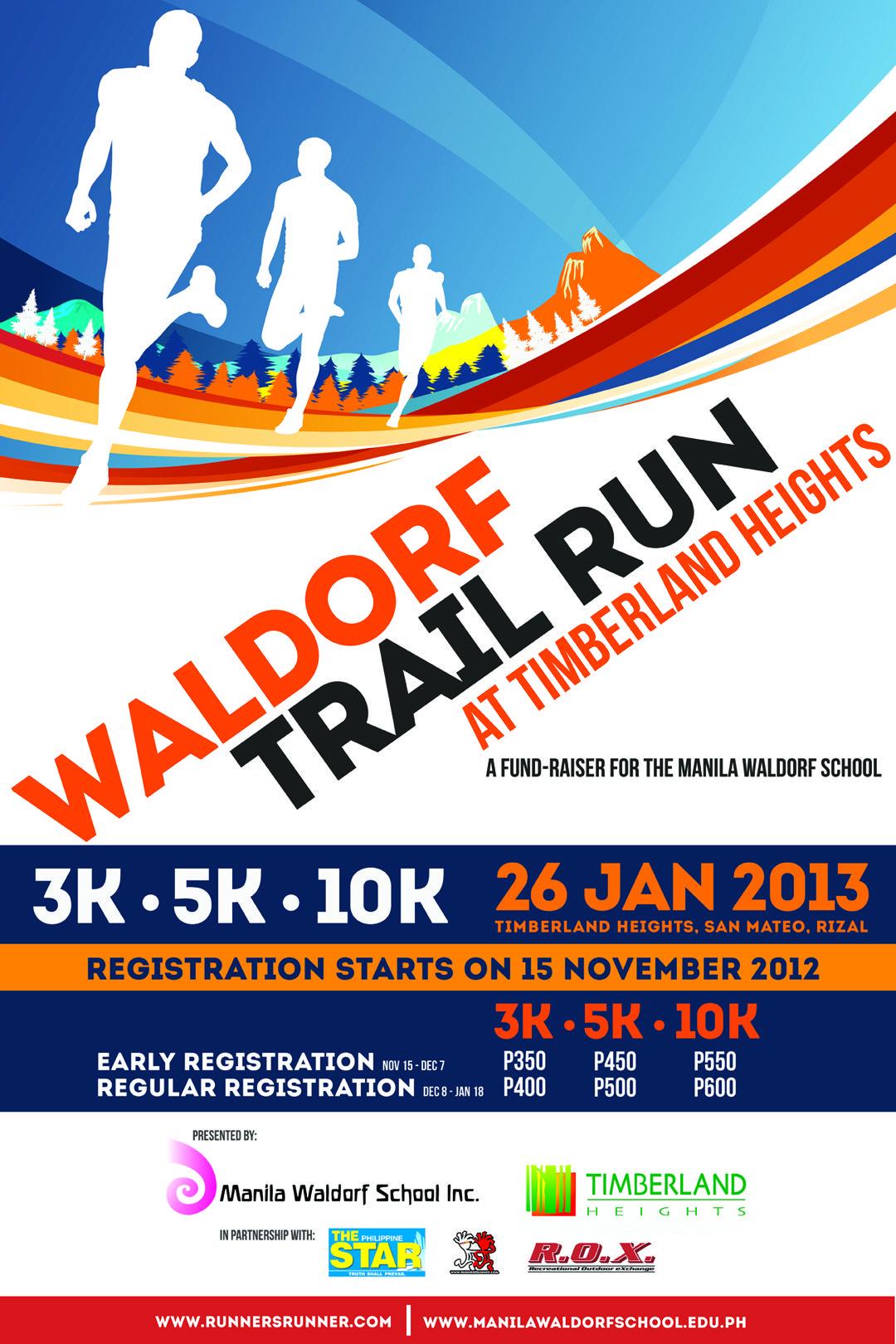 Running Waldorf Trail Run Race Branding Ideas
