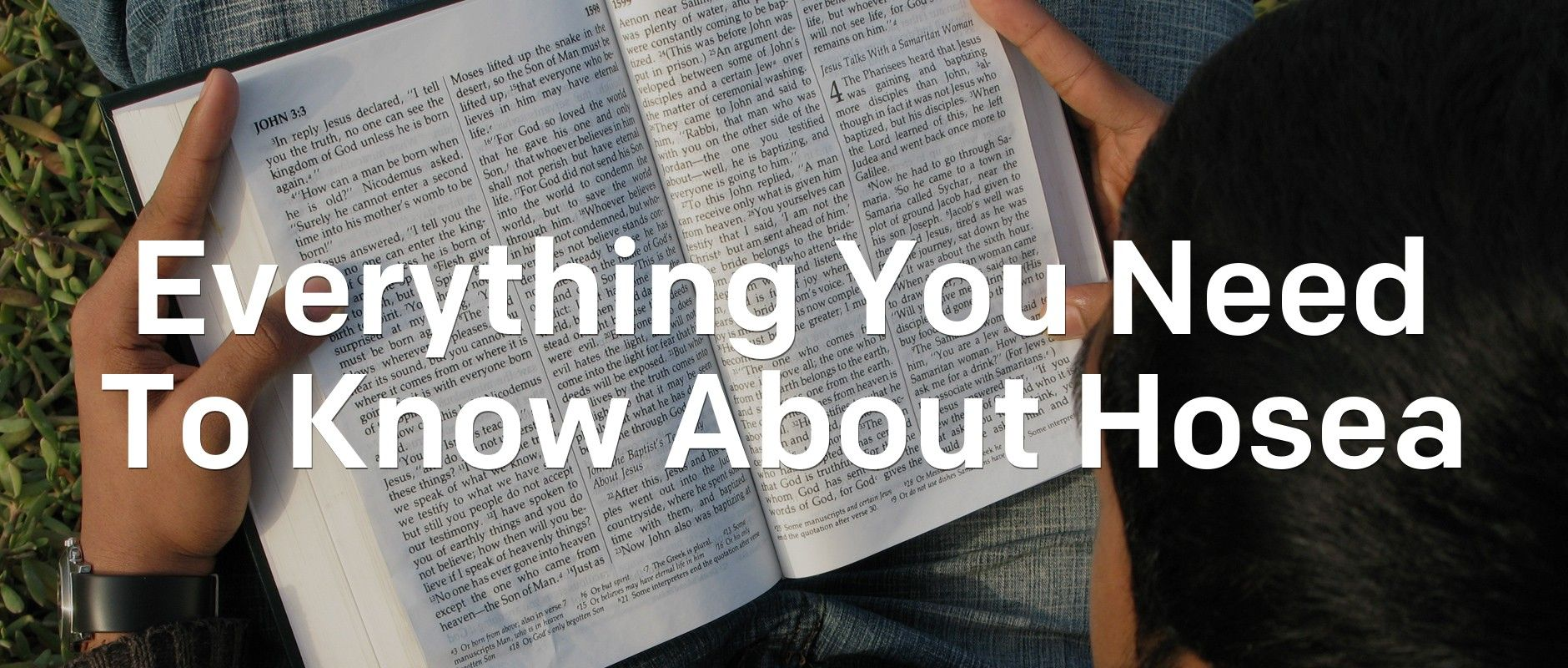 Everything You Need To Know About Hosea | Articles | NewSpring Church
