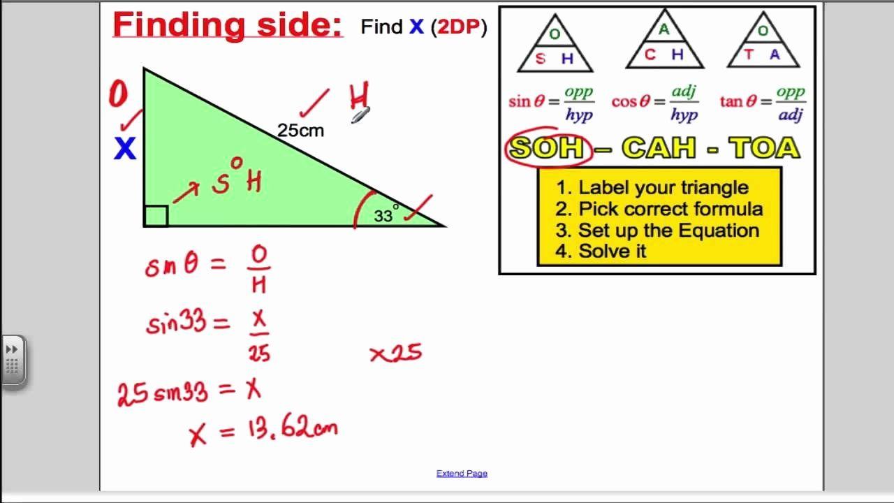 Soh Cah Toa Worksheet Luxury Trigonometry Sohcahtoa Gcse Higher Maths In 2021 Trigonometry Teaching Methods Worksheet Template