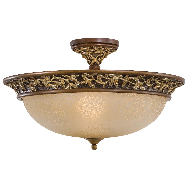 Salon Grand Semi Flush Ceiling Light Minka Lavery Lighting