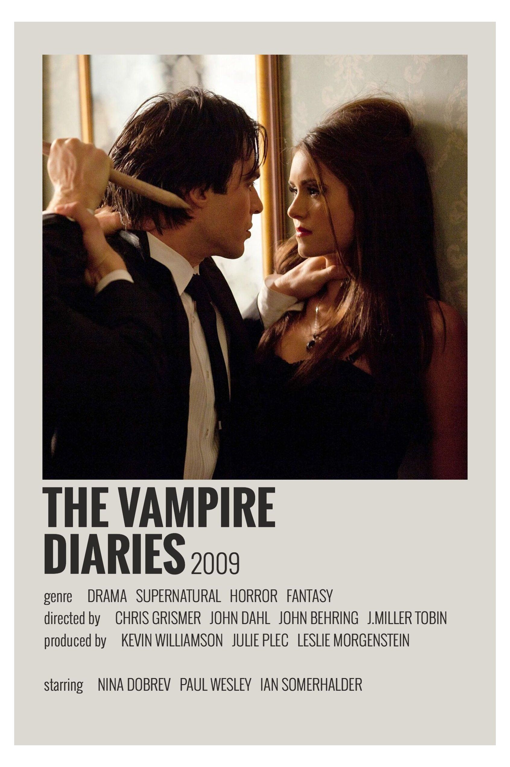 alternative movie posters vampire diaries