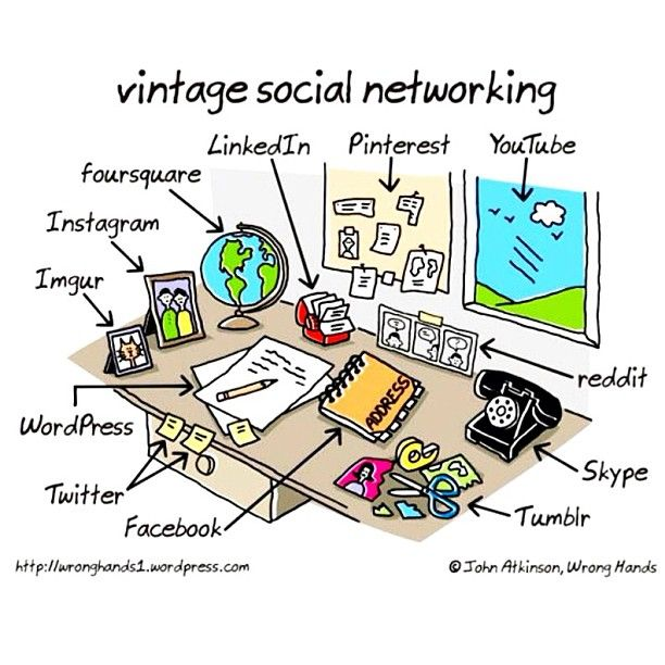vintage social networking by John Atkinson, Wrong Hands