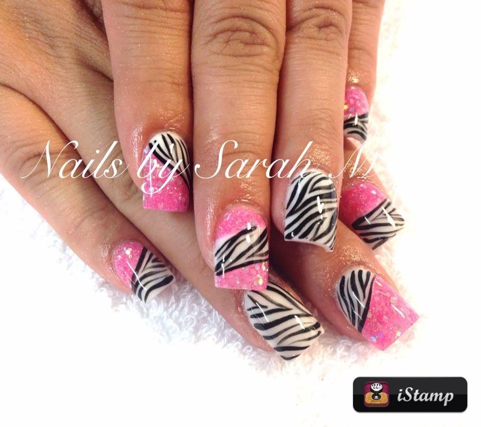 Acrylic nails   Nails By Sarah   Pinterest   Makeup, Creative nails ...