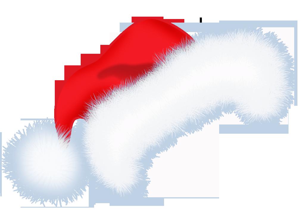 Large Santa Hat PNG Transparent Clipart Clip art