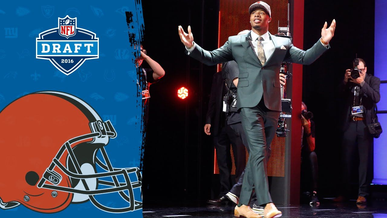 Behind the Scenes: Corey Coleman Becomes a Cleveland Brown | 2016 Draft ...